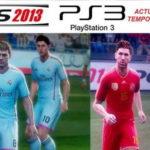 PES 2013 PS3 Option File European Version Season 14/15