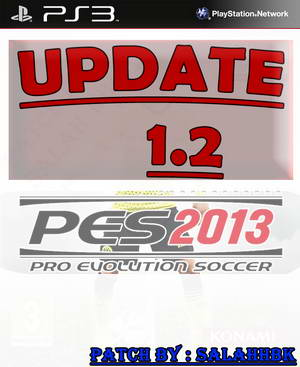 PES 2013 PS3 Season 2014/2015 Update 1.2 by Salah HBK