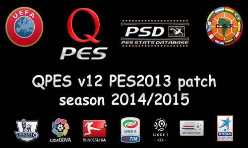 PES 2013 QPES Patch v12 Season 2014-2015 Multi Link Ketuban Jiwa