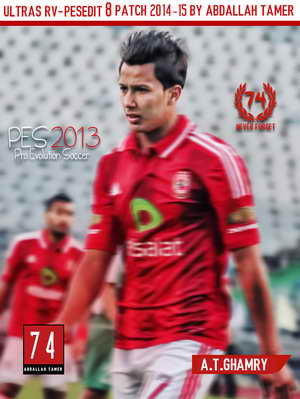 PES 2013 Ultras RV-PESEdit 8 Patch Season 14-15 by Abdallah Tamer Ketuban Jiwa