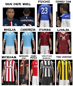 PES 2014 Tattoo Patch Update Volume 2 by everest9 Ketuban Jiwa