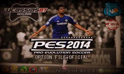PES 2014 XBOX360 Option File Update 22-10-14 by Lucassias87 Ketuban Jiwa