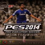 PES 2014 XBOX360 Option File Update 22/10/14 by Lucassias87