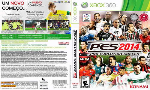 PES 2014 XBOX360 Projeto Magista 3.0 Kits (08-10-14) Ketuban Jiwa