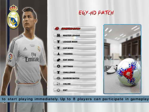 PES 6 EGY-HD Update Patch New Season 14-15 by Akonami Ketuban Jiwa SS1