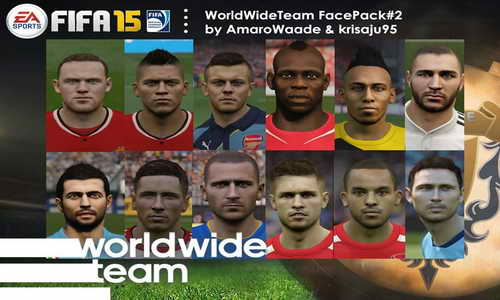 FIFA 15 Facepack 2 WorldWideTeam by AmaroWaade&Krisaju95 Ketuban Jiwa