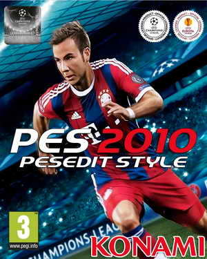 PES 2010 PESEdit Style Patch v2.0 Season 14/15 by MateusNkc