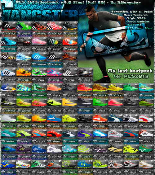 PES 2013 Final Bootpack v4.0 Full HD by SGangster Released