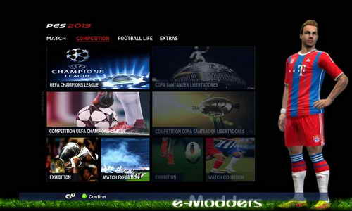 PES 2013 Graphic Patch PES 2015 by E-Modders Ketuban Jiwa