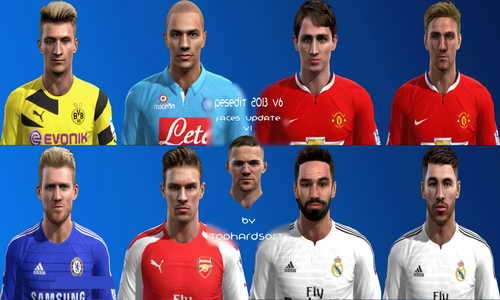 PES 2013 PESEdit 6.0 Facespack Update 2014-2015 by THSPatcher Ketuban Jiwa