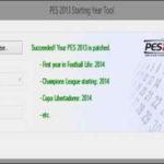 PES 2013 Starting Year Tool v2.0 Season 14/15 by Zaga14
