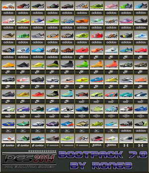 PES 2014 Bootpack Version 7.0 by Ron69 Download Link