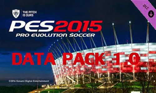 PES 2015 DLC 1.00 PS3 Official Datapack Single Link Ketuban Jiwa
