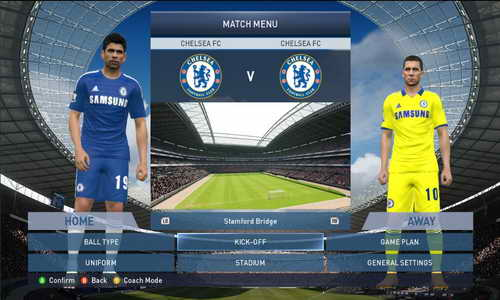 PES 2015 English Premier League EPL Kits v1 by WojtaZ