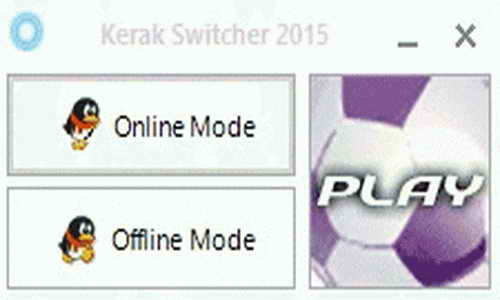 PES 2015 Offline-Online Crack Switcher Tools by Ginda01 Ketuban Jiwa