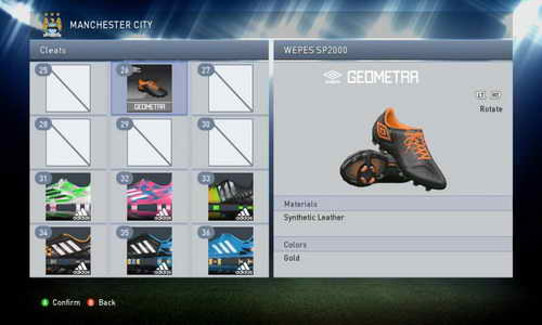 PES 2015 PC Bootpack Unlock (106 Boots) by boonaun