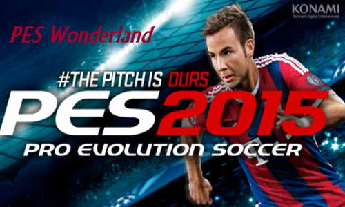 PES 2015 PS3 PESWonderland Option File (OF/FO) v1.00