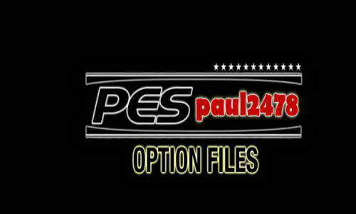 PES 2015 PS3 Paul2478 Option File Update v2 (27-11-14) Ketuban Jiwa