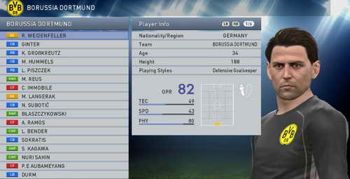 PES 2015 Super Patch Bundesliga Update Fix v2.0 by WojtaZ Ketuban Jiwa Screenshot