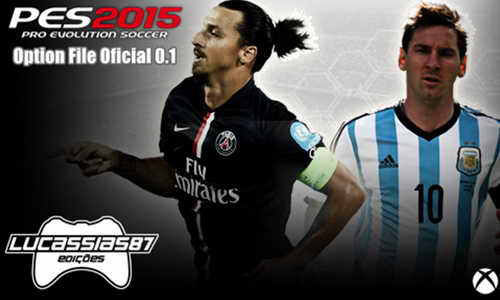 PES 2015 XBOX360 Option File Update v0.1 (26/11/14) by Lucassias87