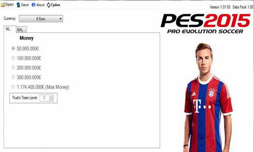 PES 2015 XBOX360 Save Editor Update 1.1 by extream87