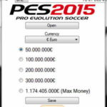 PES 2015 XBOX360 Save Editor Update 1.2 by extream87