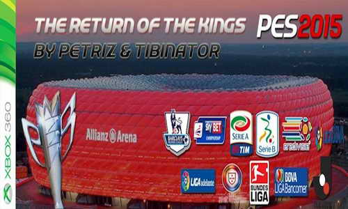PES 2015 XBOX360 The Return of the Kings Patch Update v2.0+v2.1