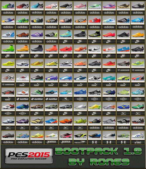 Pro Evolution Soccer PES 2015 Bootpack v1.0 by Ron69