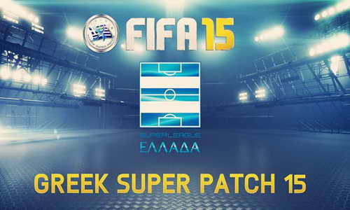 FIFA 15 GSP Greek Super Patch v1.0 Released Single Link
