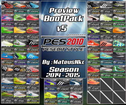 PES 2010 New Bootpack HD v5.0 Season 14-15 by MateusNkc Ketuban Jiwa