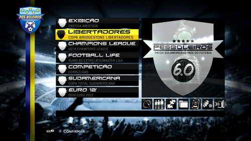 PES 2013 PESBoleiros Sudamericano Update Patch 6.0+Fix Ketuban Jiwa SS1