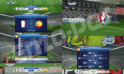 PES 2013 UEFA EURO 2016 Scoreboards by EnzoPes Ketuban Jiwa