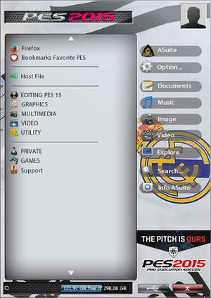 PES 2015 Editing Suite PC Tools by GStyle Ketuban Jiwa SKIN 3