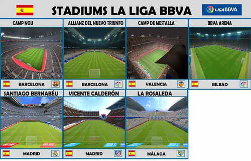PES 2015 New 26 Stadiums Pack Update v2 by Estarlen Silva Ketuban Jiwa SS1