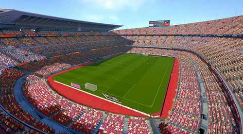 PES 2015 New 26 Stadiums Pack&Adboards by Estarlen Silva Ketuban Jiwa SS1