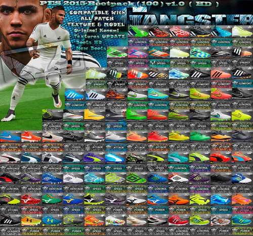 PES 2015 New Bootpack HD (100 Boots) v1.0 by SGangster Ketuban Jiwa