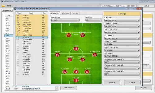 PES 2015 PESNextGen Editor Tools Alpha 0.5.0 For PC