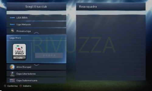 PES 2015 PS3 Option File OF/FO Full Lega Pro C by Rivuzza