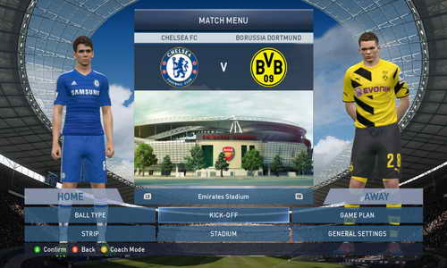 PES 2015 QPES Full Patch v1.0+Complete Bundesliga