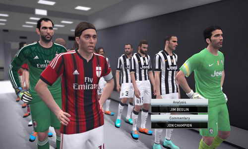 PES 2015 Sider v1.2 Unlock Entrance Scenes Tools by Juce