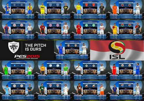 PES 2015 SunEvo Patch 1.0+Indonesia Super League ISL Ketuban Jiwa SS3