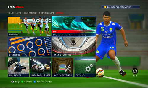 PES 2015 SunEvo Patch 1.0+Indonesia Super League ISL
