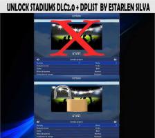 PES 2015 Unlock Stadiums DLC 2.0+Dplist by Estarlen Silva Ketuban Jiwa