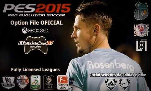 PES 2015 XBOX360 O.F 0.7 Fix DLC 2.0 by Lucassias87