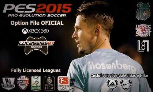 PES 2015 XBOX360 OF/FO v0.8 (30/12/14) by Lucassias87