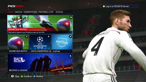 Pro Evolution Soccer PES 2015 Graphics Mod Main Menu by Fruits Ketuban Jiwa SS2