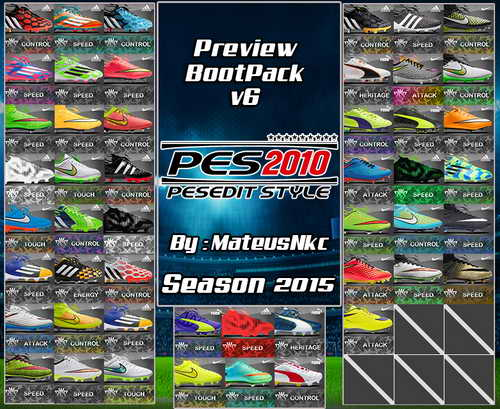 PES 2010 New Bootpack HD v6.0 Season 14/15 by MateusNkc