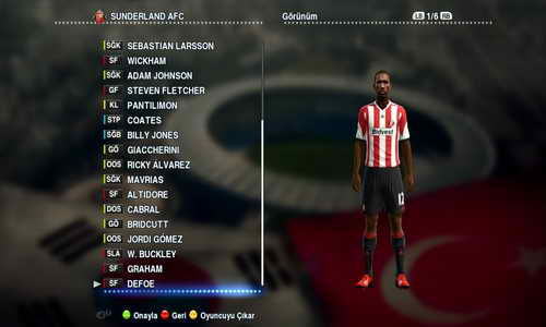 PES 2013 Option File Update 17/01/2015 by Ferhat19