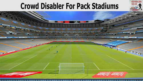 PES 2015 Crowd Disabler Stadiums Pack by EstarlenSilva