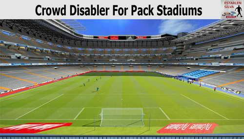 PES 2015 Crowd Disabler Stadiums Pack by EstarlenSilva Ketuban Jiwa